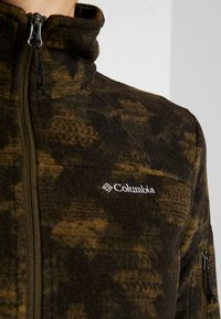 Columbia - FAST TREK PRINTED - Fleecejakke - olive green - 5