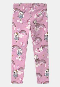 Lindex - MINI SWEET - Leggings - Trousers - dusty pink - 1