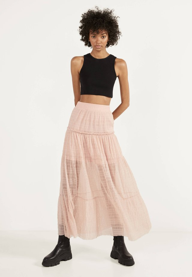 Jupe longue - pink