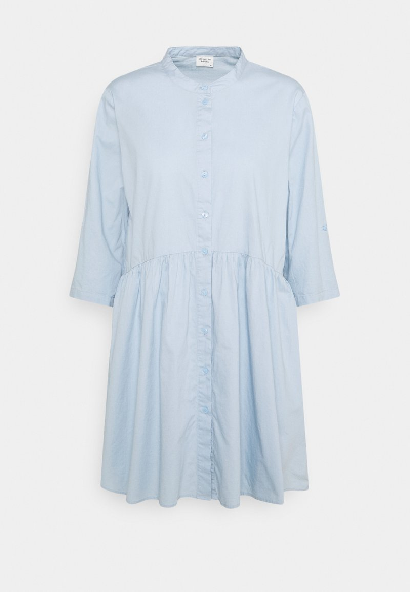 JDY - CAMERON LIFE SHORT DRESS - Shirt dress - cashmere blue