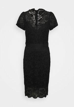 AMELIE DRESS - Shift dress - jet black