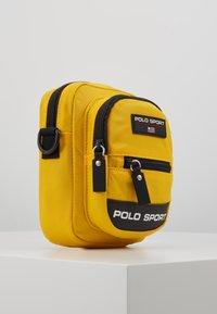 Polo Ralph Lauren - CROSSBODY - Across body bag - yellow - 4