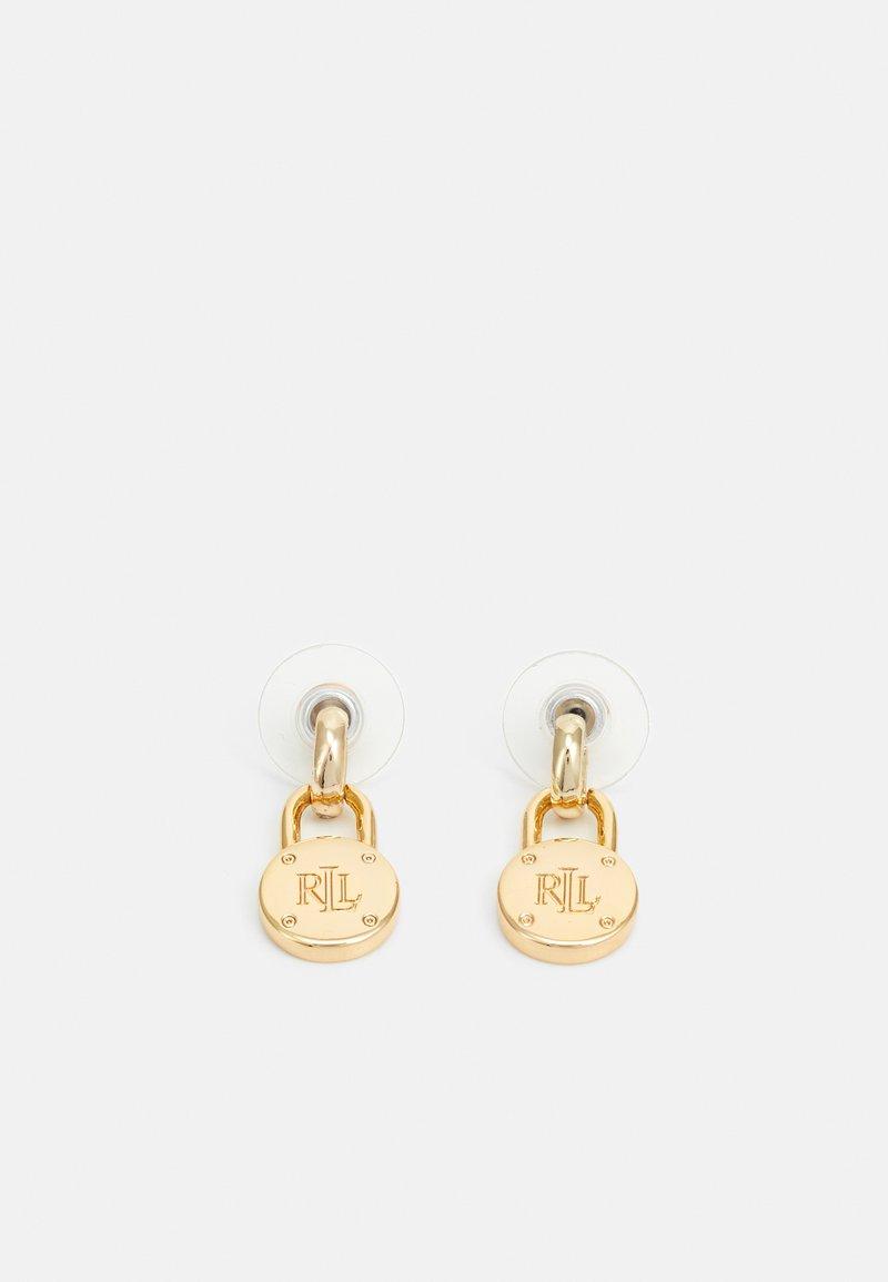 Lauren Ralph Lauren - BASIC LOGO PADLOCK DROP - Øredobber - gold-coloured