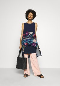 Desigual - CARNEGIE - Day dress - azul tinta - 1