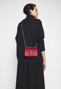 Lauren Ralph Lauren - CROSSBODY MINI - Across body bag - red - 1