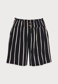 TOM TAILOR DENIM - Shorts - black/beige - 4