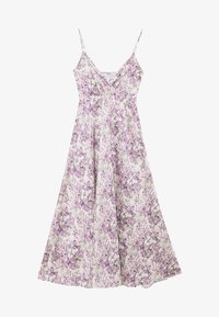 NA-KD - V-NECK FLOWY DRESS - Maxi-jurk - purple - 4