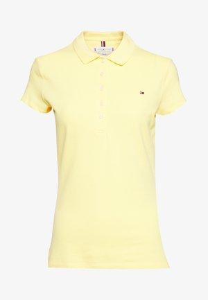 NEW SHORT SLEEVE SLIM - Poloshirts - sunny