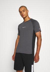 Champion - CREWNECK  - T-shirt sportiva - grey/black - 0