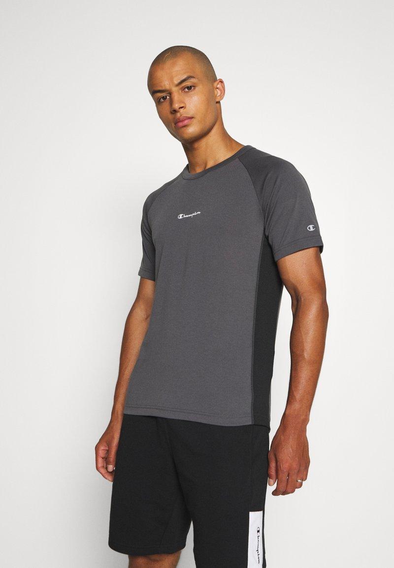 Champion - CREWNECK  - T-shirt sportiva - grey/black