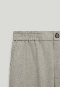 Massimo Dutti - MIT STRETCHBÜNDCHEN  - Trousers - grey - 3