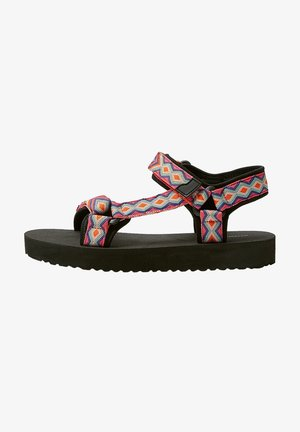 Sandály na platformě - multi-coloured