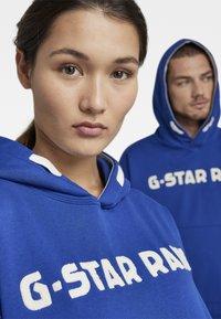 G-Star - UNISEX EMBRO HDD SW - Sweatshirt - bhashor sweat r -blue - 3