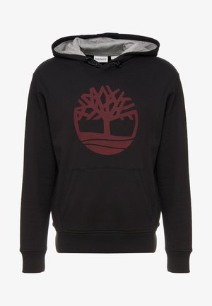 TREE LOGO - Luvtröja - black