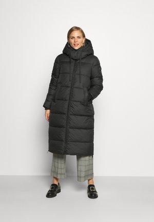 COLD WINTER PUFFER COAT - Winter coat - deep black