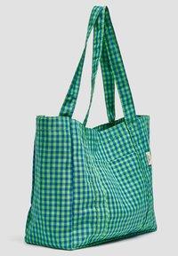 PULL&BEAR - KARIERTE - Tote bag - green - 2
