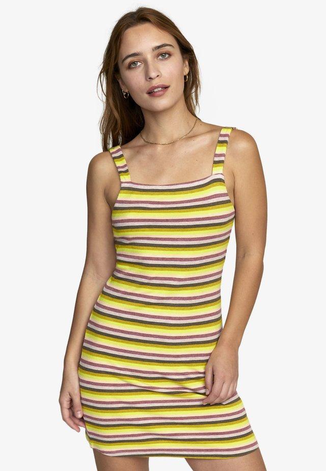Etui-jurk - yellow