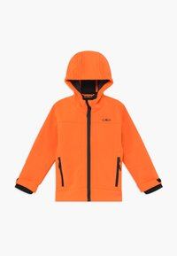 CMP - KID FIX HOOD UNISEX - Soft shell jacket - flash orange - 0
