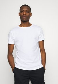 Replay - 3 PACK - T-shirt basic - black/grey melange/white - 2