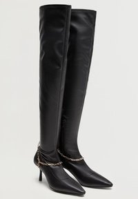 Violeta by Mango - PULSE-I - Over-the-knee boots - schwarz - 2
