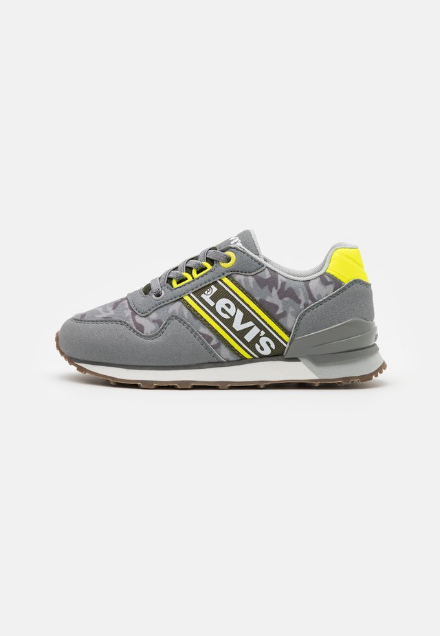 NEW SPRINGFIELD - Trainers - grey/lime