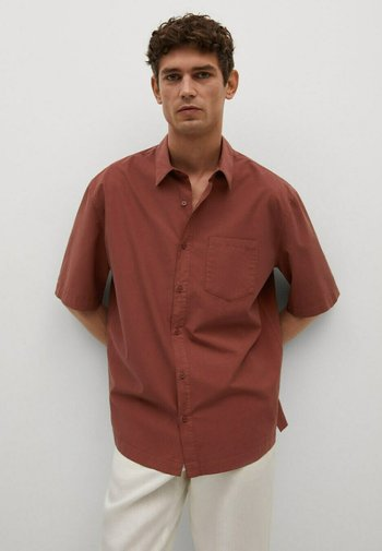 RELAXED-FIT  - Shirt - brent oransje