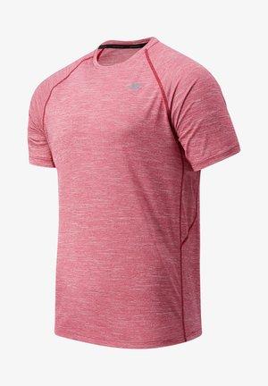TENACITY - Basic T-shirt - neo crimson