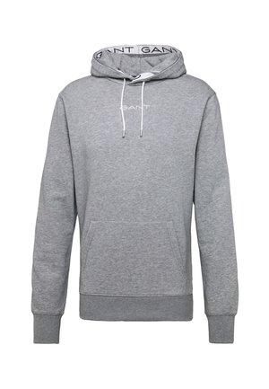 STRIPES HOODIE - Hættetrøjer - grey melange