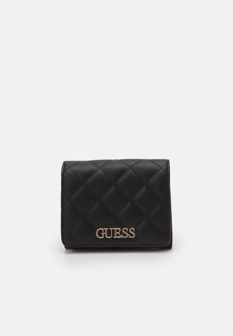 Guess - ILLY SMALL TRIFOLD - Wallet - black