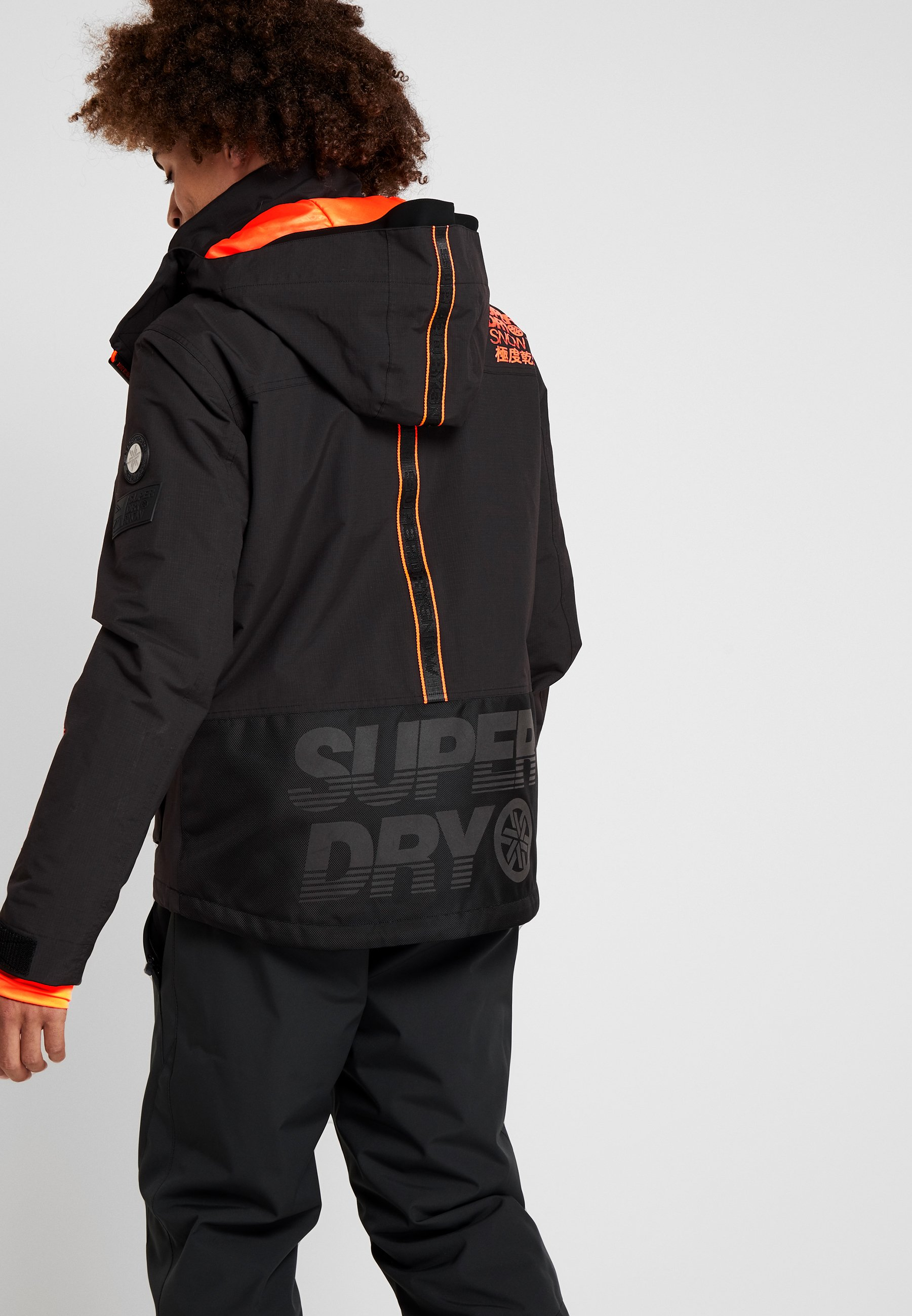 ULTIMATE SNOW RESCUE Snowboardjacke onyx black