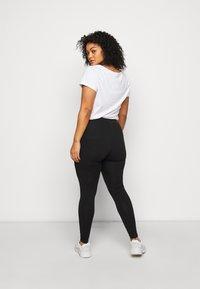 Dorothy Perkins Curve - 2 PACK  - Leggings - Trousers - black - 2