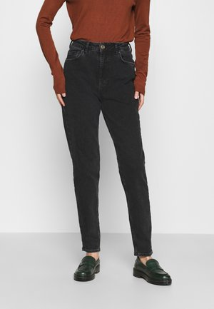 PCLEAH MOM  - Jeans Slim Fit - black