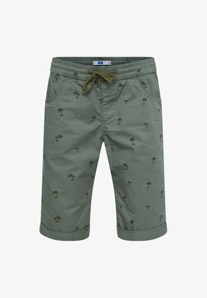 Shorts - moss green