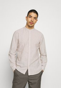 Only & Sons - ONSCAIDEN SOLID MAO - Overhemd - chinchilla - 0