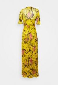 Diane von Furstenberg - ERICA LONG - Maksimekko - palm large yellow - 1
