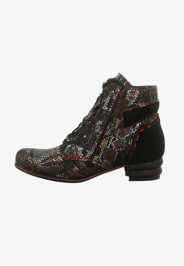 Lace-up ankle boots - mehrfarben