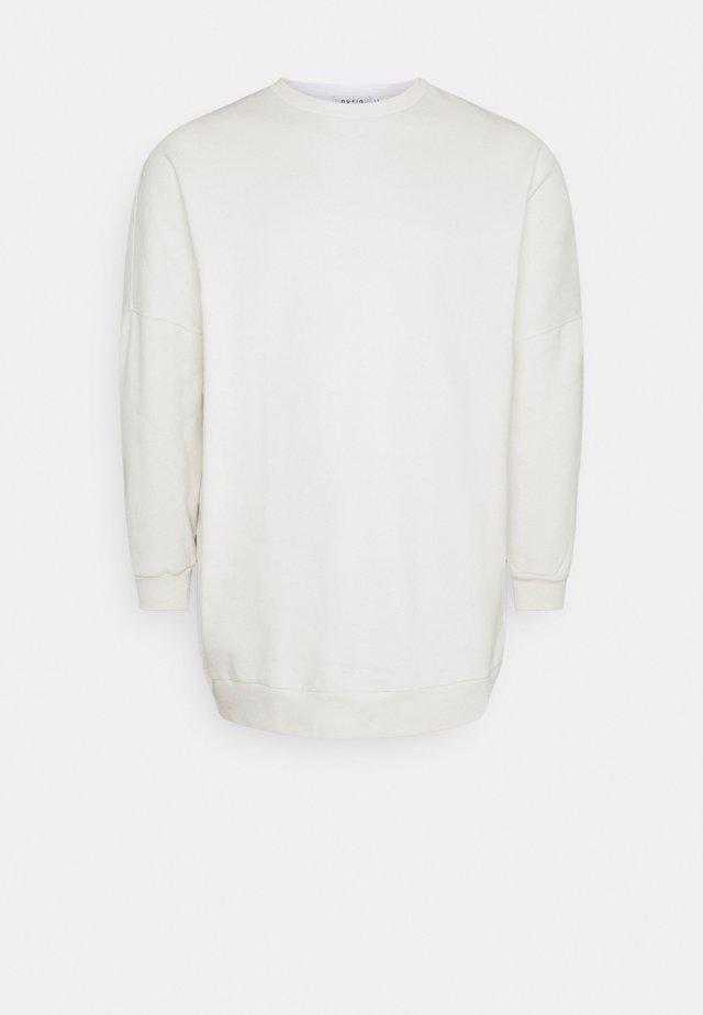 PLUS OVERSIZED - Sweatshirt - white