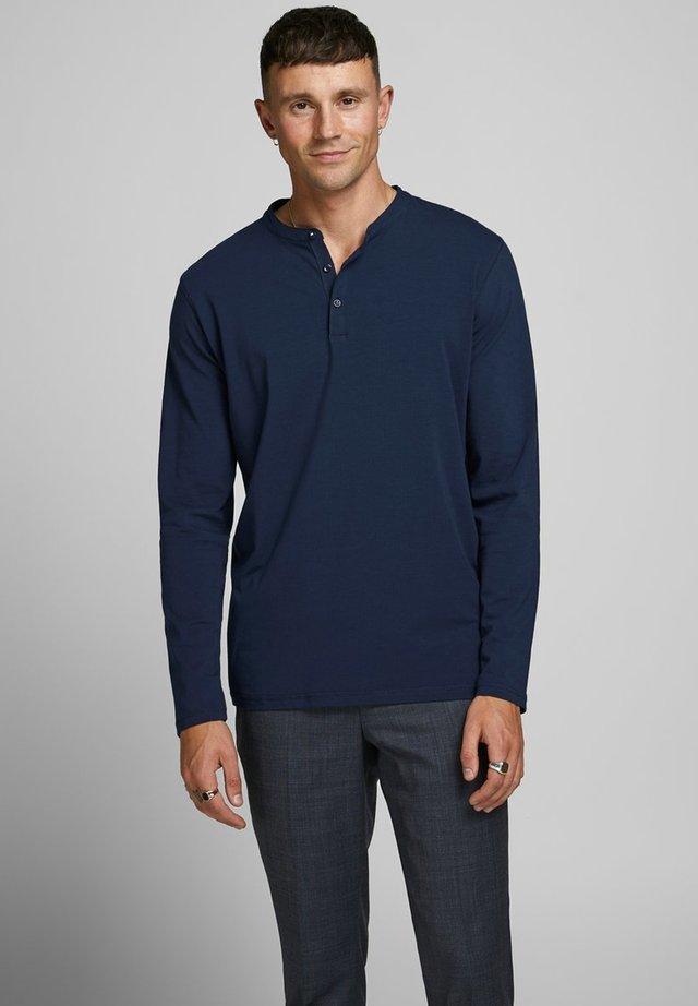 Bluzka z długim rękawem - navy blazer