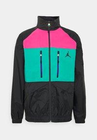 Jordan - MOUNTAINSIDE JACKET - Summer jacket - black/neptune green/watermelon - 0