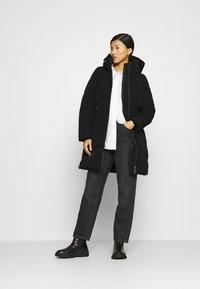 Calvin Klein - ELEVATED LONG LENGTH JACKET - Winter coat - black - 1