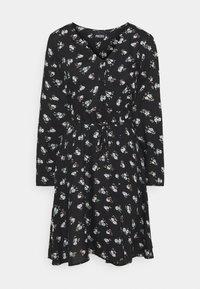 Pieces - PCSILJY DRESS - Day dress - black - 4