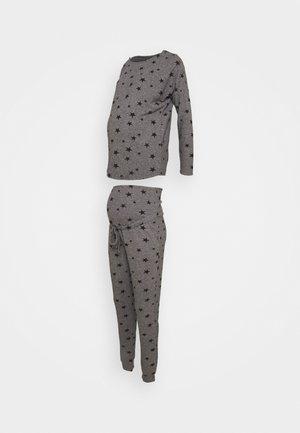STAR 2 PIECE - Pyjama - charcoal