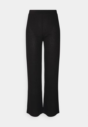 PCMOLLY PANTS  - Trousers - black