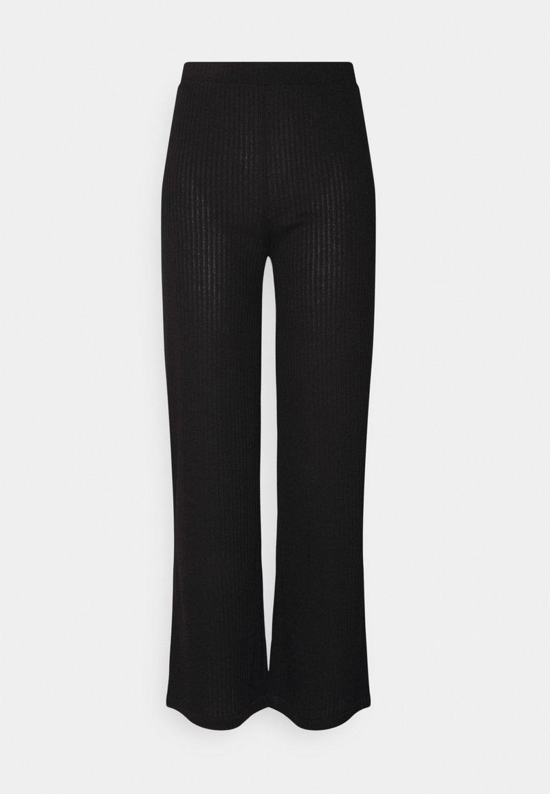 Pieces - PCMOLLY PANTS  - Trousers - black