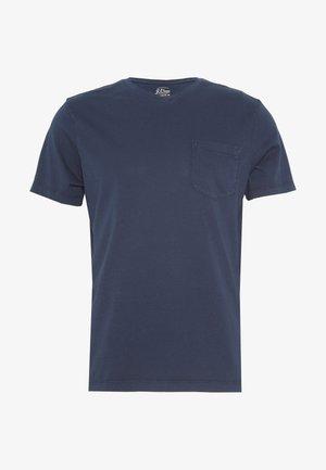 BROKEN IN CREW - T-shirt basique - navy