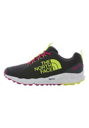 M SPREVA TOKYO - Sneakers - asphalt grey/glo pink