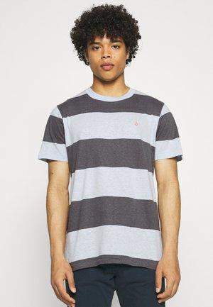 HANDSWORTH CREW - Print T-shirt - aether blue