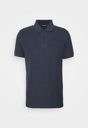 TROY SEASONAL - Polo shirt - midnight blue melange