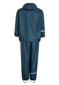 CeLaVi - RAINWEAR SUIT BASIC SET WITH FLEECE LINING - Rain trousers - iceblue - 1