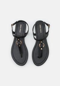 Anna Field - T-bar sandals - black - 5